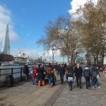 En route pour Tower Bridge