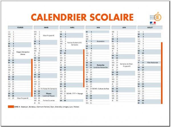Calendrier Clisthène 2015-2016 -2