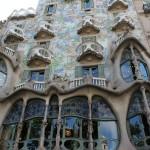 Une autre maison de Gaudi, sur les Ramblas.