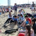 Sur le sable aussi c'est bien !